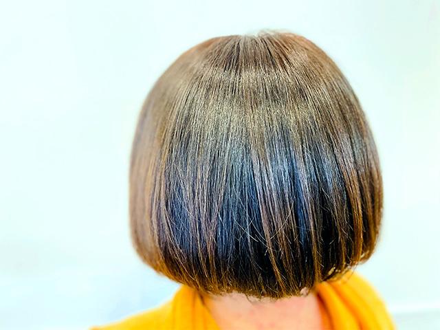 プレミアムカラー|髪質改善