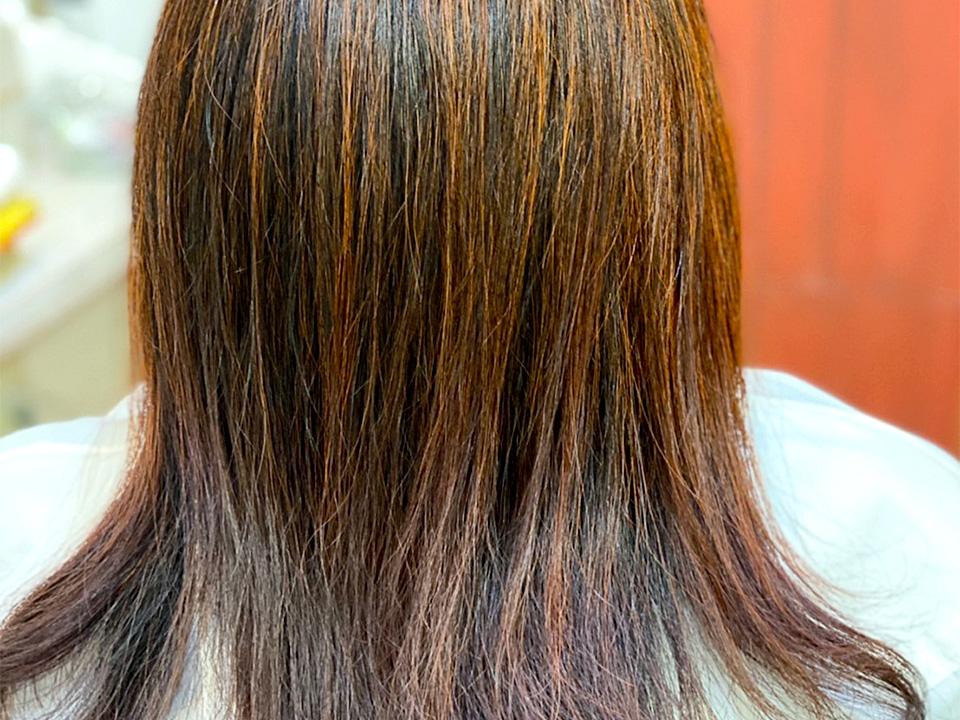 天然100%ヘナカラー|髪質改善